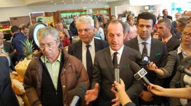 Umberto Bossi e Luca Zaia