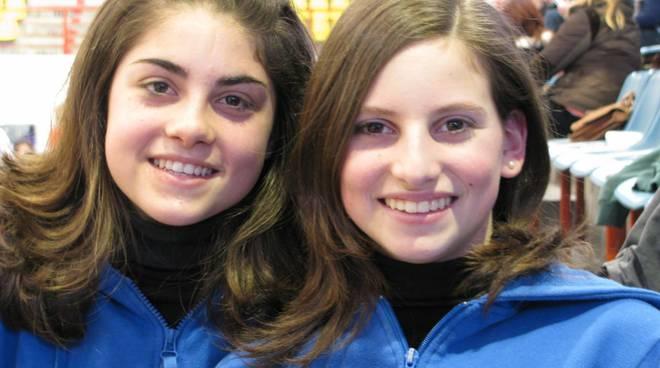 Andrea Violante (a sinistra) e Ilaria Ratti (a destra)