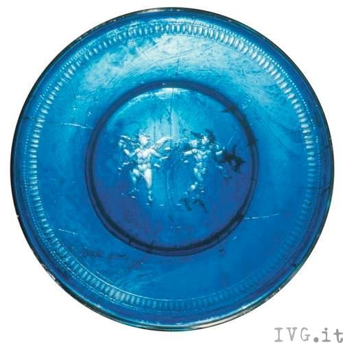 piatto blu