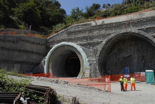 raddoppio ferroviario Andora San Lorenzo