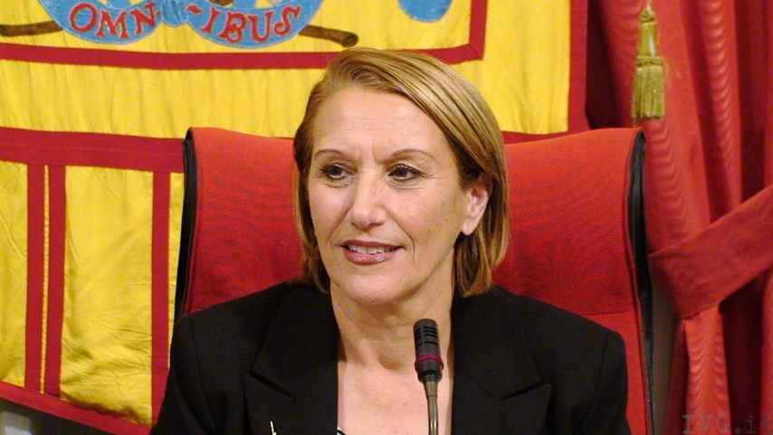 Rosy Guarnieri - sindaco Albenga