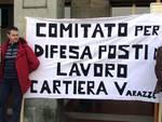 Savona - cartiera varazze protesta