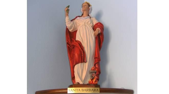 statua santa barbara