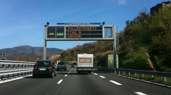 traffico code autostrada A10