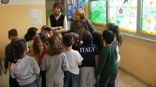 Visita sindaco scuole via degli Orti