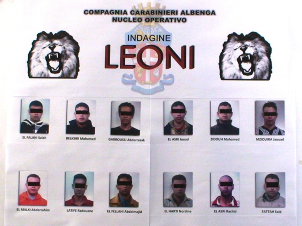 Albenga - operazione leoni