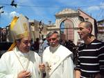 Incontro Zanardi con vescovo Lupi