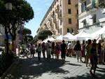 "Savona, corso Italia, mercato ""Paesi e Sapori"""
