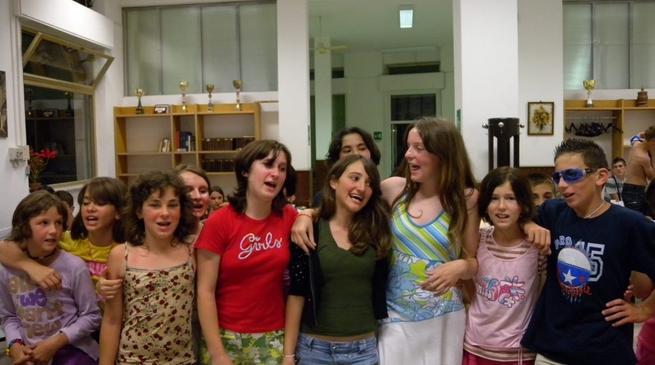 bambini bosniaci in soggiorno ad Albenga