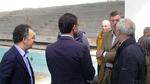Burlando - visita cantiere piscina coperta Savona
