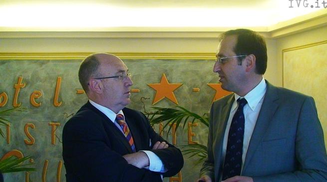 Carlo Scrivano e Angelo Baerlangieri