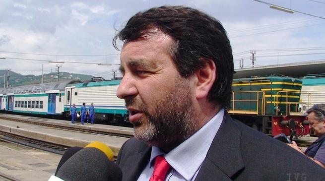 Enrico Vesco, stazione savona