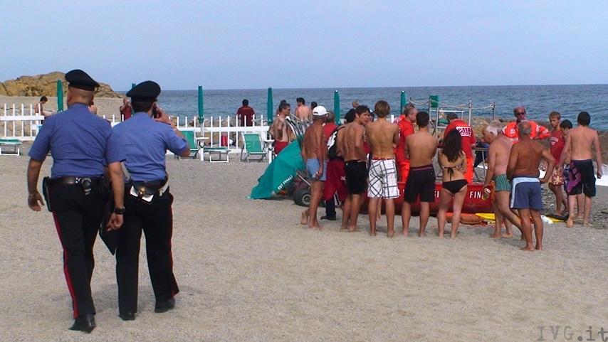 Finale turista francese annegato a castelletto foto ivg.it