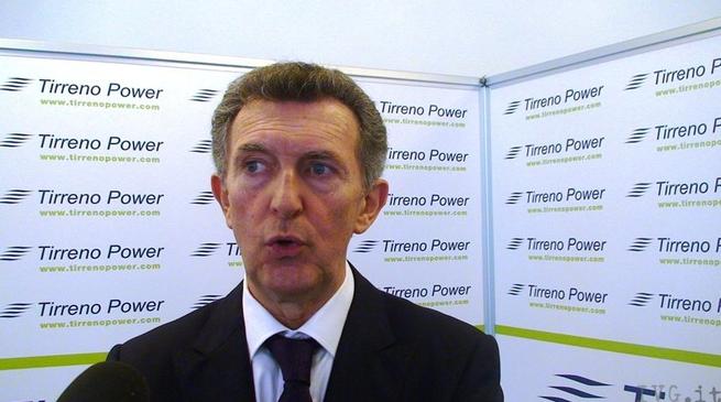 Giovanni Gosio, direttore generale di Tirreno Power