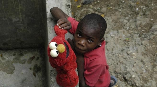 Haiti - bambino
