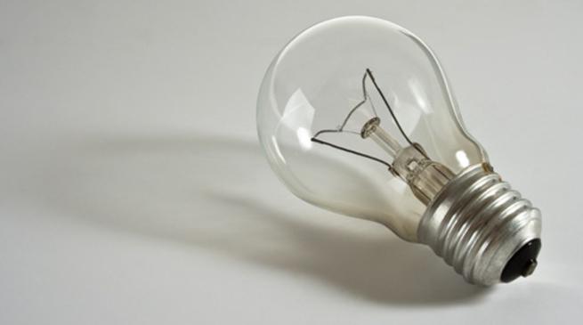 luce lampadina energia elettrica