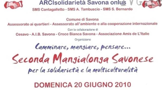 Mangialonga Savonese - locandina