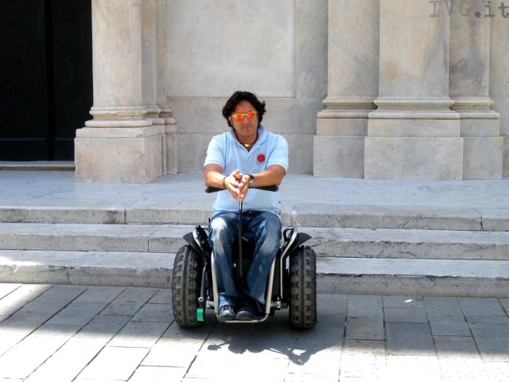 Paolo Badano segway disabili