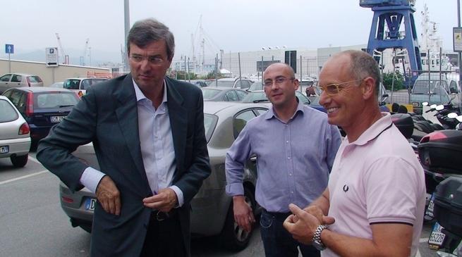 Savona - Burlando visita il Culp