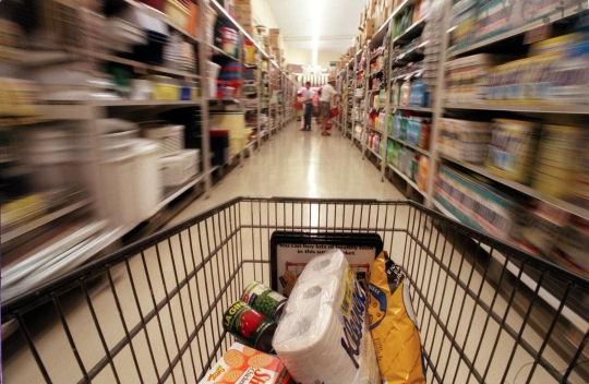 spesa carrello supermercato