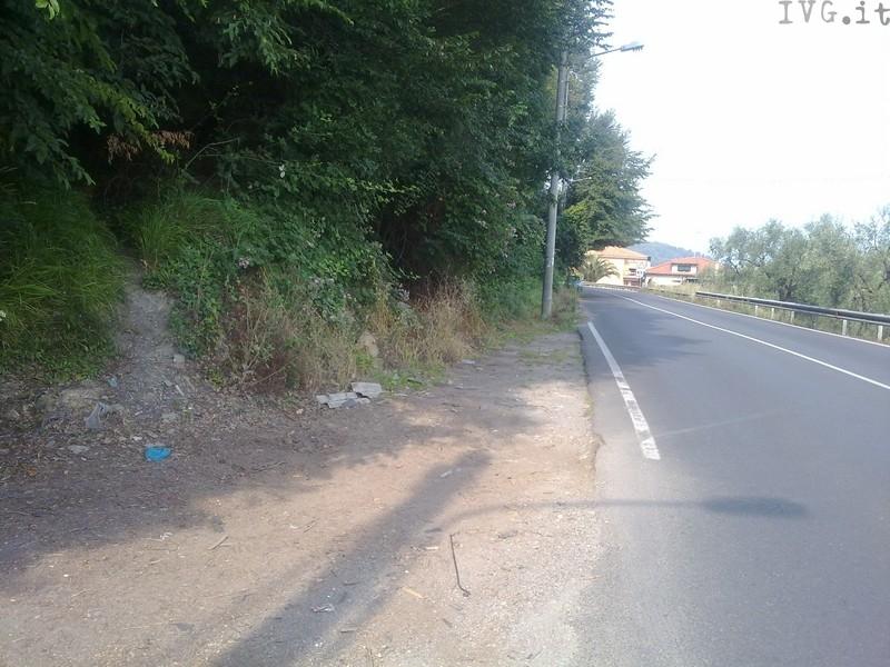 strada provinciale per Villanova - San Fedele