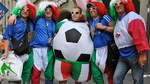 tifosi Italia Mondiale Azzurri nazionale