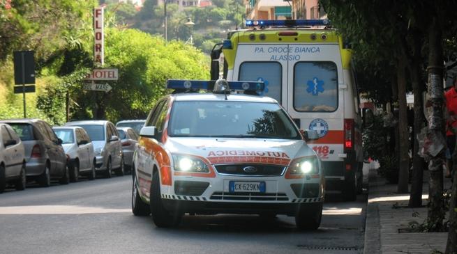alassio - ambulanza, 118