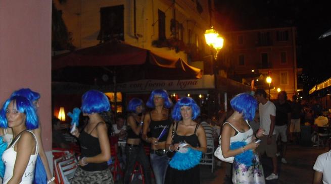 Alassio - movida - venerdì blu