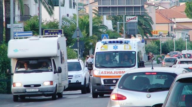 Ambulanza traffico
