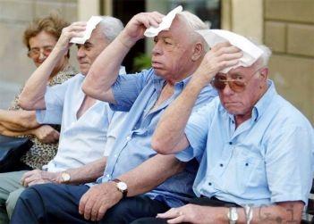 anziani caldo