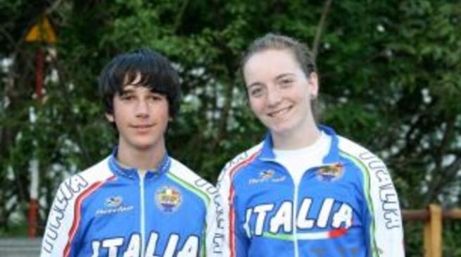 Elisa Fulcheri ed Emanuele Becchis