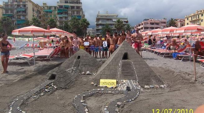Loano, Architetti in erba, concorso castelli di sabbia
