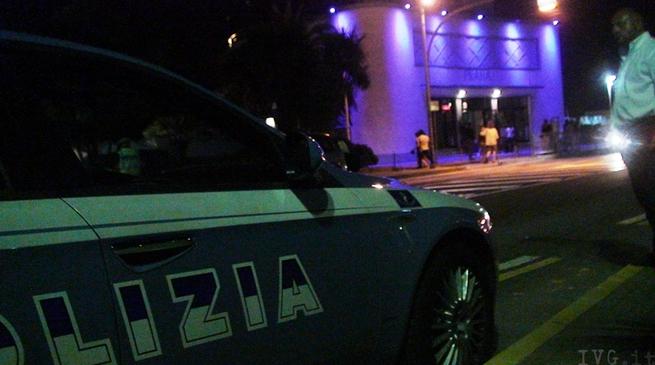 Polizia notte controlli Prana