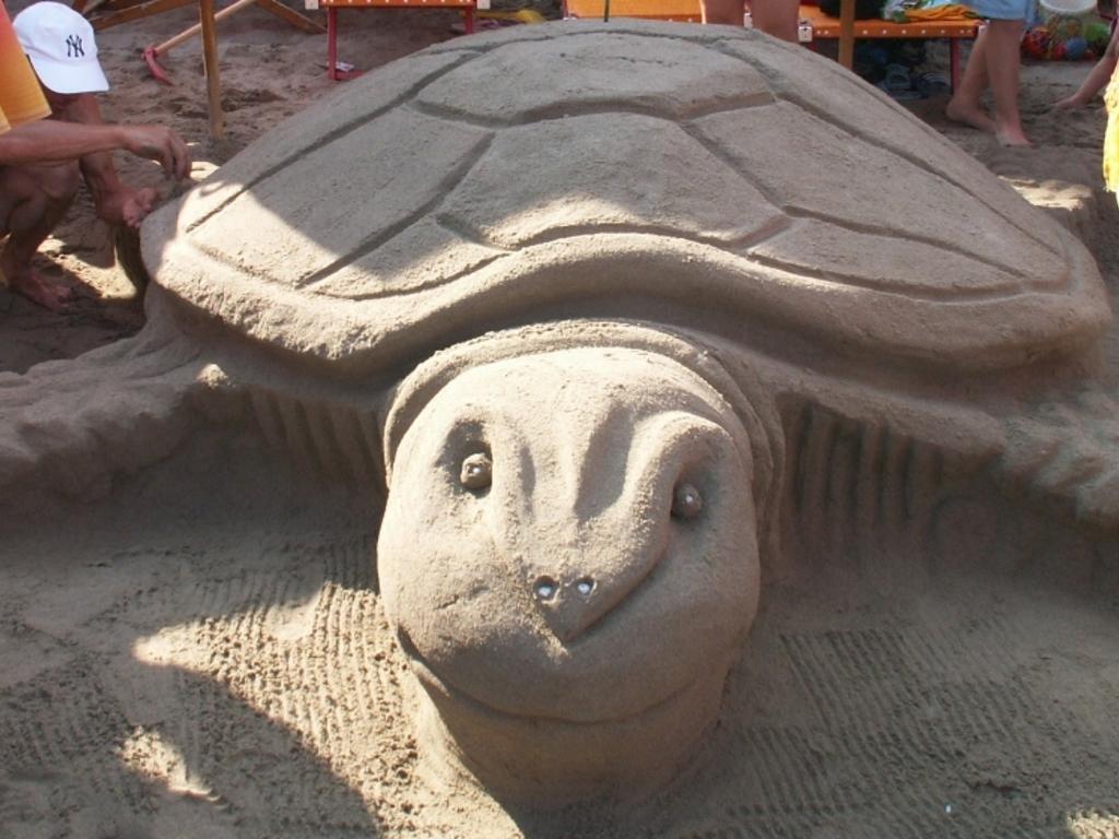 Alassio - castelli di sabbia