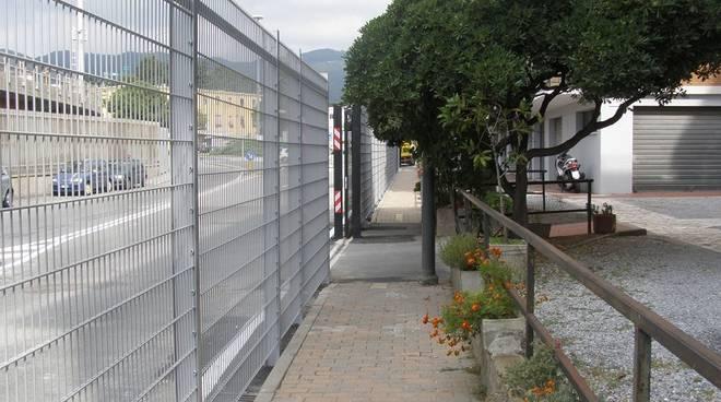 cancelli Legino stadio Bacigalupo