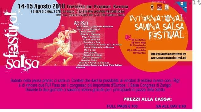 International Savona Salsa Festival