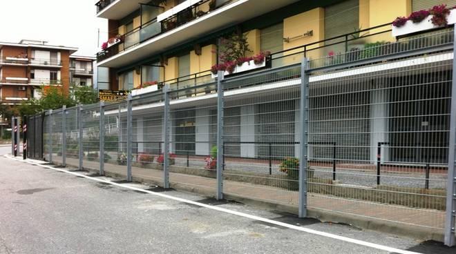 Legino, barriere stadio