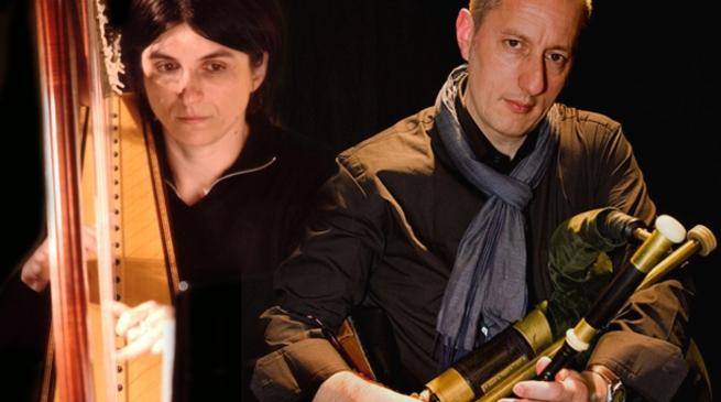 Noli, concerto d'arpa: Fabio Rinaudo, Elena Spotti