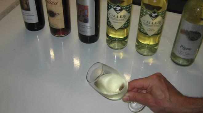 Sagra Salea bicchiere vino