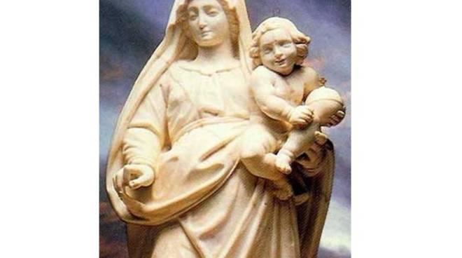 statua Madonna della Guardia, chiesa, messa