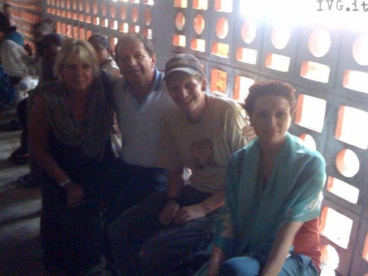 Tomaso Bruno - Elisabetta con i genitori di Tomaso