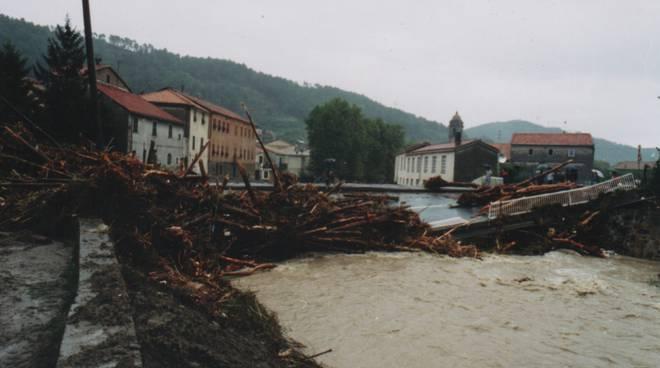 alluvione del 1992 Quiliano - Vado