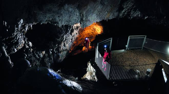 Bergeggi - grotta Galleria del Treno