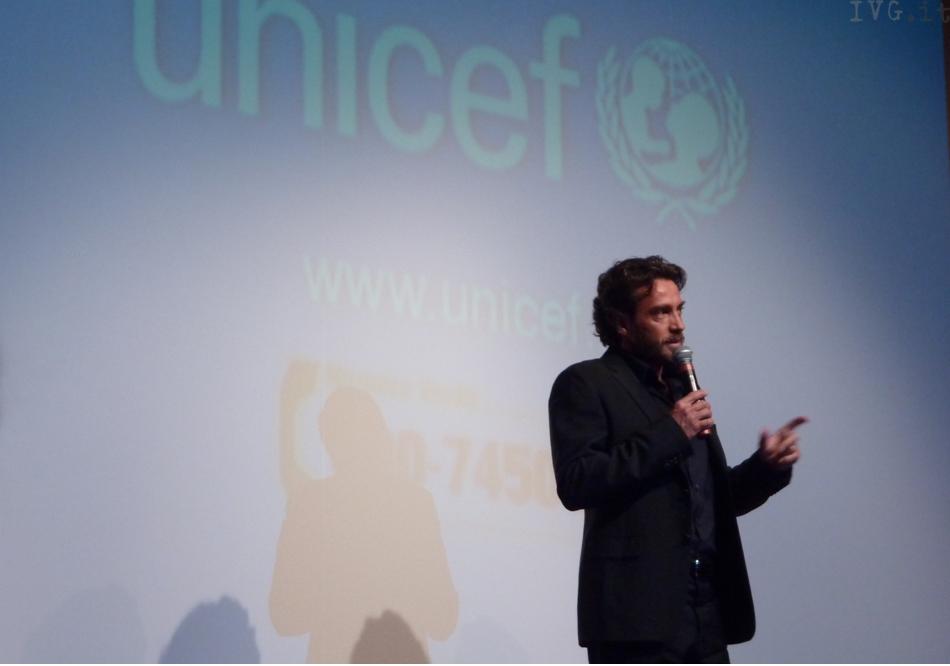 Borgio, serata Unicef, Alessio Boni