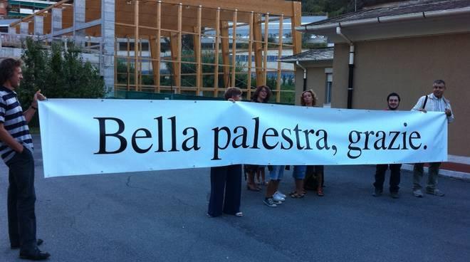 Finale, scuole via Brunenghi: protesta palestra