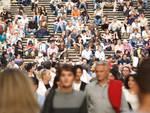 folla, gente, persone