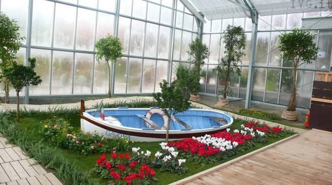 giardino ligure alla mostra di Villinge--Schwenningen