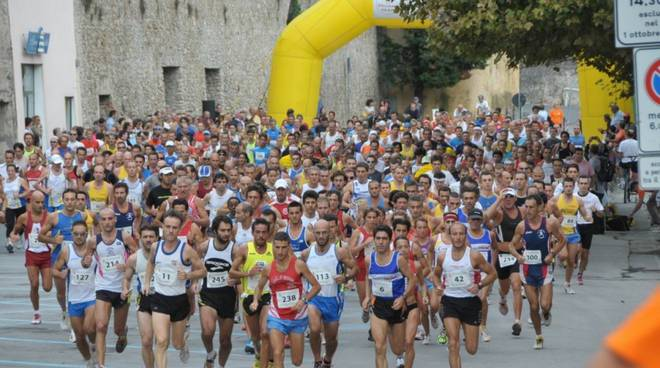 Giro Mura Loano - gara podistica