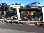 incidente sulla a10: bisarca contro auto