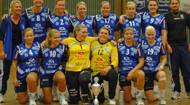 Pallamano squadra svedese Celle